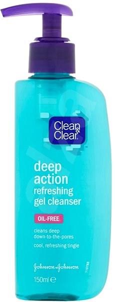CLEAN & CLEAR Deep Action Refreshing Gel Cleanser 150 ml - Čisticí gel