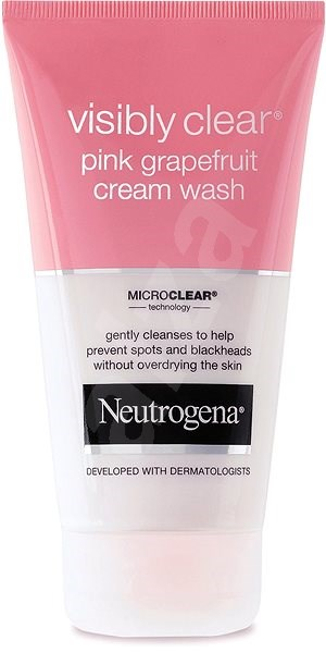 NEUTROGENA Visibly Clear Pink Grapefruit Cream Wash 150 ml - Čisticí gel