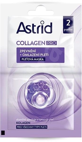 ASTRID Collagen Pro 2× 8 ml - Pleťová maska