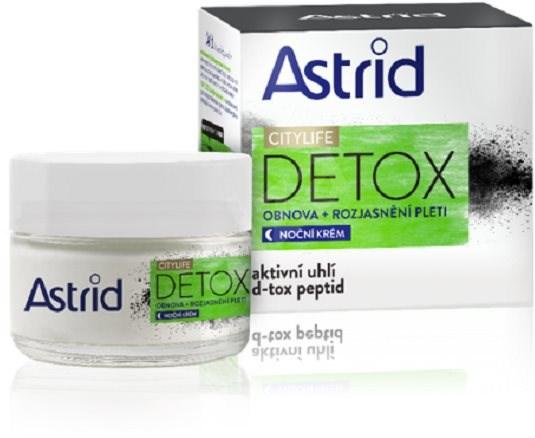 ASTRID Citylife Detox Noční krém 50 ml - Pleťový krém