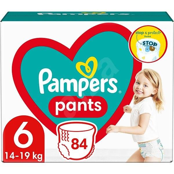 PAMPERS Pants Extra Large vel. 6 (88 ks) - Mega Box - Plenkové kalhotky