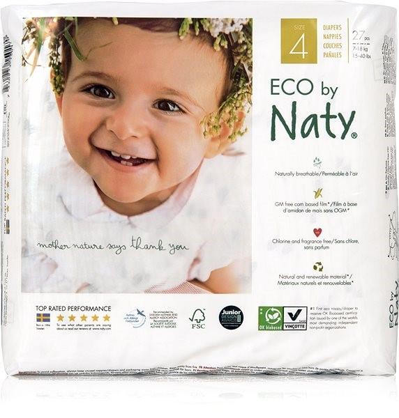 NATY Maxi vel. 4  (27 ks) - Eko pleny