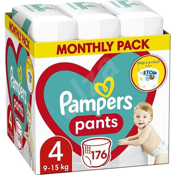 PAMPERS Pants vel. 4 (176 ks) - měsíční zásoba - Plenkové kalhotky