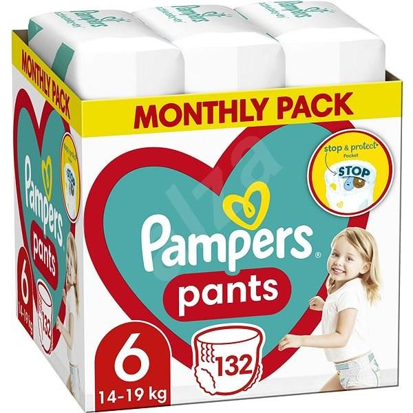 PAMPERS Pants vel. 6 (132 ks) - měsíční zásoba - Plenkové kalhotky