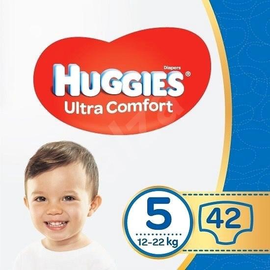 HUGGIES Ultra Comfort Jumbo vel. 5 (42 ks) - Dětské pleny
