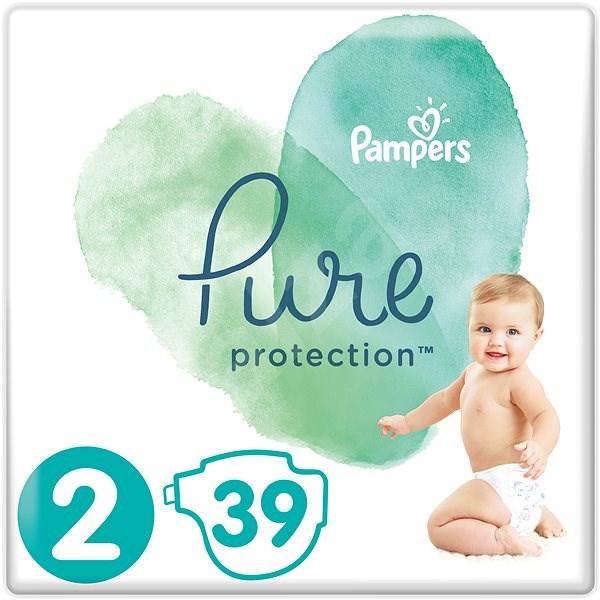 PAMPERS Pure Protection vel. 2 (39 ks) - Dětské pleny