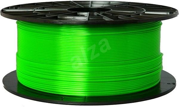 Filament PM 1.75mm PETG 1kg transparentní zelená - Filament