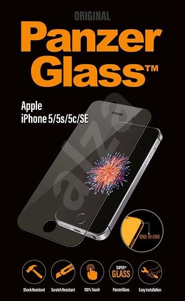 PanzerGlass Edge-to-Edge pro Apple iPhone 5/5S/5C/SE čiré  - Ochranné sklo