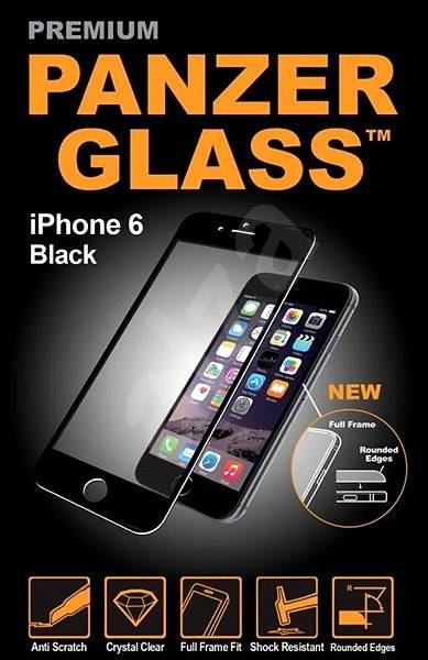 PanzerGlass Premium pro iPhone 6 a iPhone 6S černé - Ochranné sklo