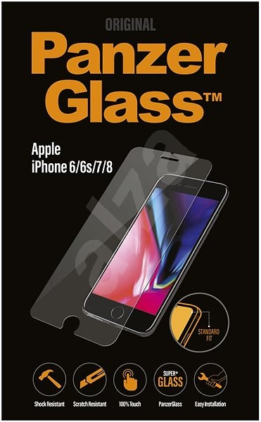 PanzerGlass Standard pro Apple iPhone 6/6s/7/8 čiré - Ochranné sklo