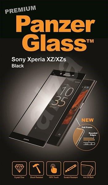PanzerGlass Premium pro Sony Xperia XZ/XZs, černé  - Ochranné sklo