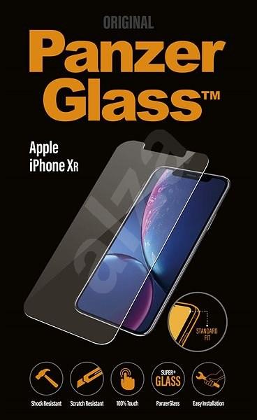 PanzerGlass Standard pro Apple iPhone XR čiré - Ochranné sklo