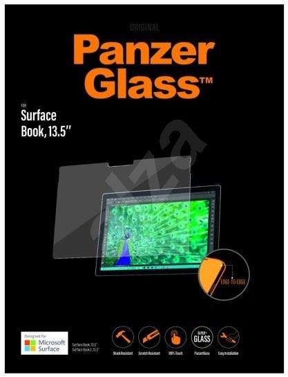 PanzerGlass Edge-to-Edge pro Microsoft Surface Book/Book 2 13.5'' čiré - Ochranné sklo