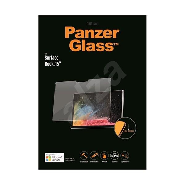 PanzerGlass Edge-to-Edge pro Microsoft Surface Book/Book 2, 15'' čiré - Ochranné sklo