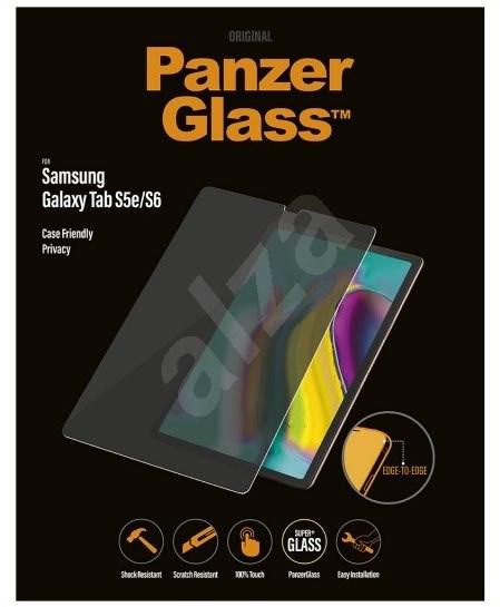 PanzerGlass Edge-to-Edge Privacy pro Samsung Galaxy Tab S5e/S6 čiré  - Ochranné sklo