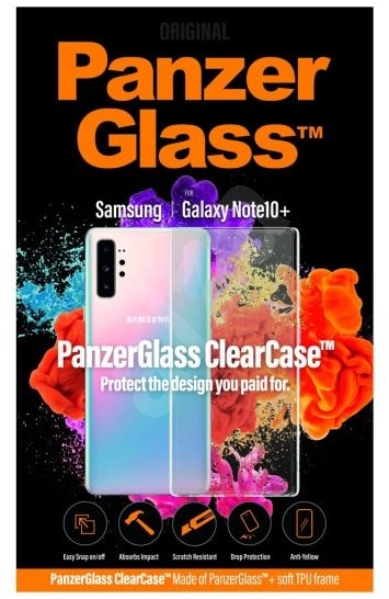 PanzerGlass ClearCase pro Samsung Galaxy Note 10+ - Pouzdro na mobilní telefon