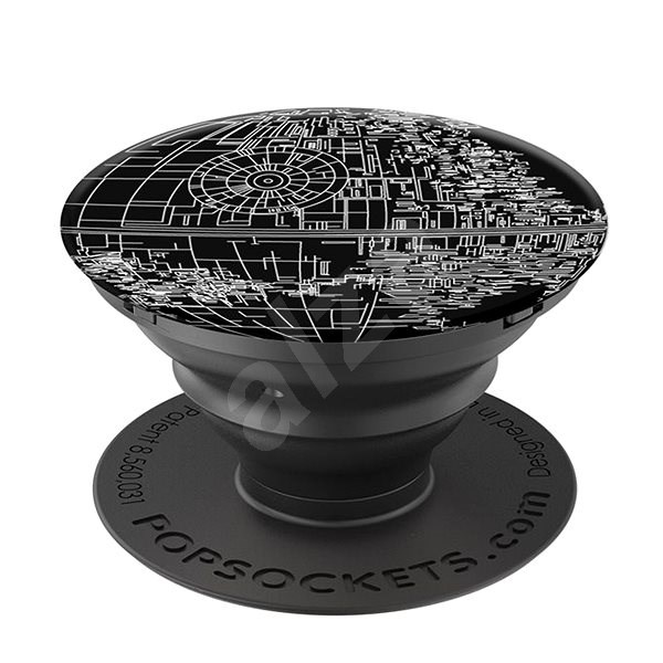 PopSockets STAR WARS Aluminum Death Star - Držák