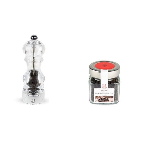PEUGEOT Dárkový set Nancy mlýnek na pepř 18 cm, Tan Hoi pepř 70g - Mlýnek na koření mechanický