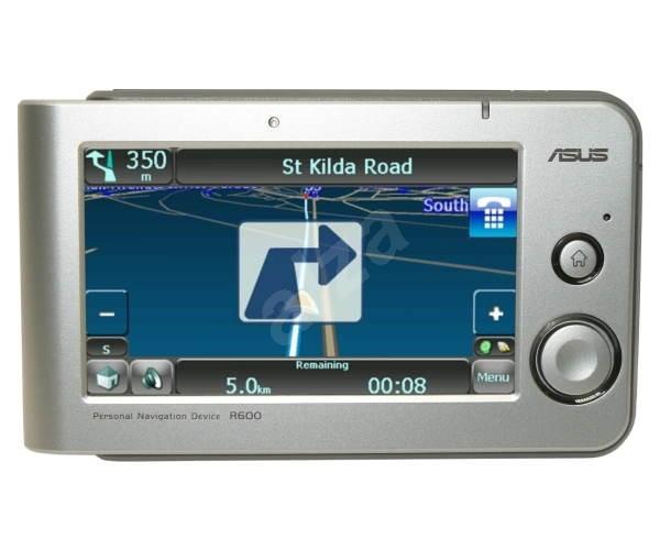 GPS navigace ASUS R600 - GPS navigace