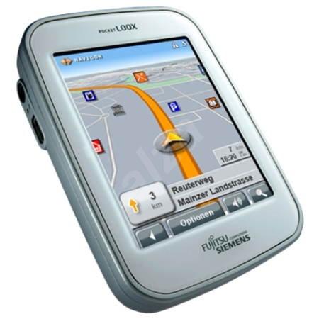 Navigační systém GPS Fujitsu-SIEMENS LOOX N100 - Navigace