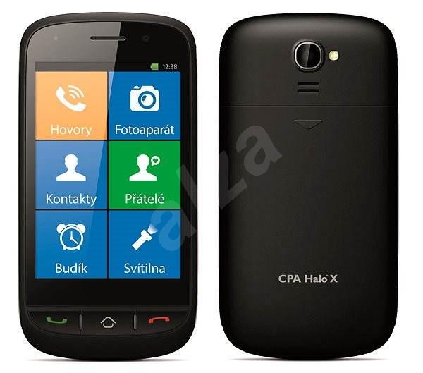CPA Halo X černý - Mobilní telefon