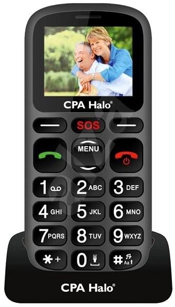 CPA Halo 16 Senior černý - Mobilní telefon