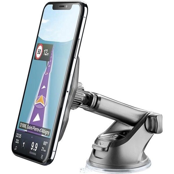 Cellularline MAG4 Pilot Force Wireless černý - Držák na mobilní telefon