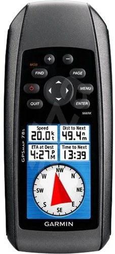 Garmin GPSMap 78S - Ruční GPS navigace