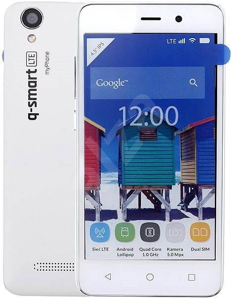 MyPhone Q-Smart bílý - Mobilní telefon