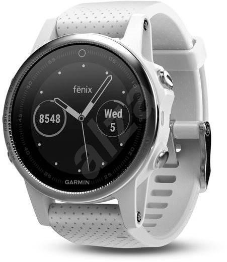 Garmin Fenix 5S Silver Optic White band - Chytré hodinky  174c2de59f