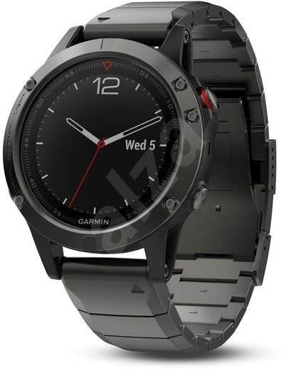 Garmin Fenix 5 Sapphire Gray Optic Metal band - Chytré hodinky
