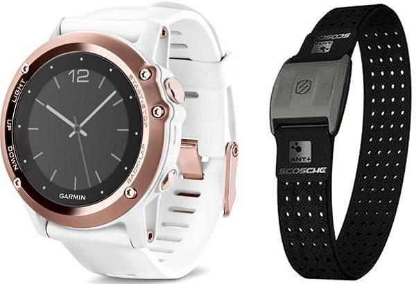 Garmin Fenix 3 Sapphire (Rose) + HR Optic - Chytré hodinky  24016cce4c3