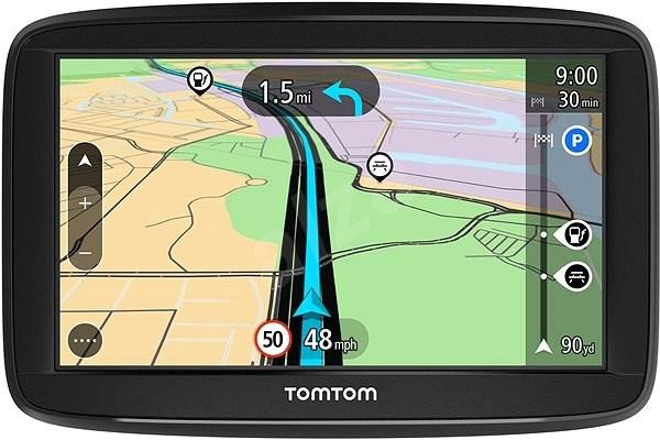TomTom Start 52 Europe Lifetime mapy - GPS navigace