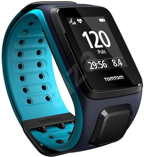 TomTom Runner 2 Cardio (L), modrá - Sporttester