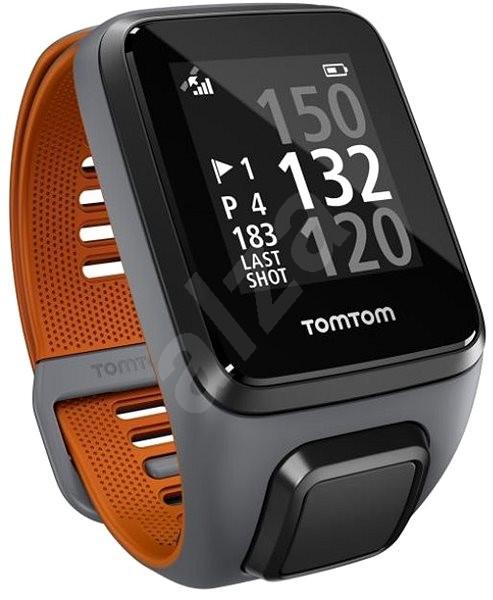 TomTom Golfer 2 SE šedá/oranžová - Sporttester