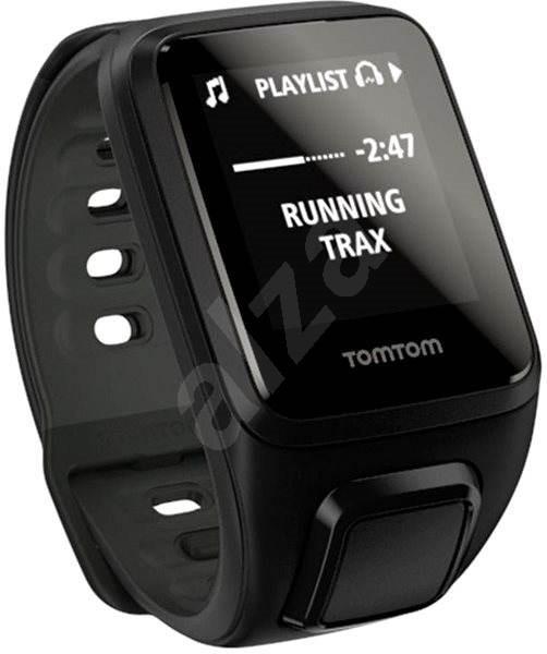 TomTom Spark Fitness Cardio + Music (S), černá - Sporttester