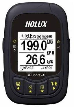 Holux GPSport 245 Lite - GPS cyklocomputer
