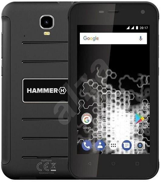 MyPhone HAMMER Active černý - Mobilní telefon