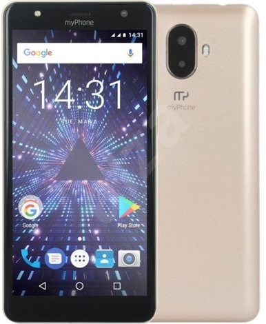 myPhone Pocket 18x9 zlatý - Mobilní telefon