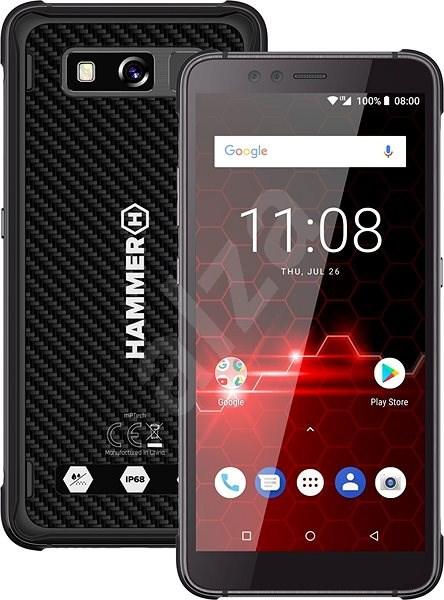 myPhone Hammer Blade 2 Pro černá - Mobilní telefon