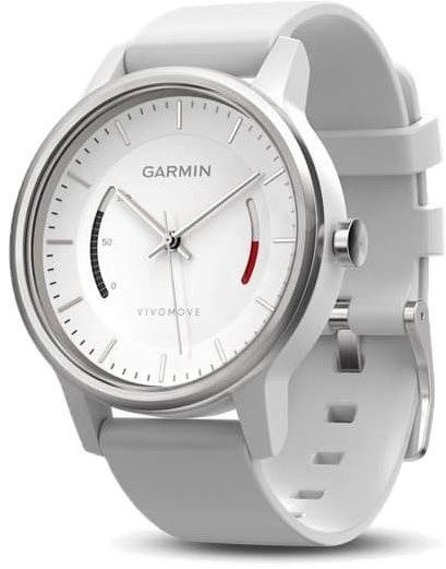 a891cd753d0 Garmin vivomove Sport White - Sporttester