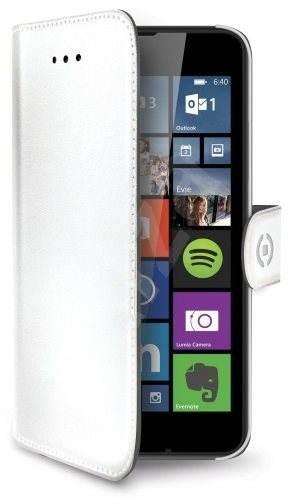 CELLY WALLY477WH bílé - Pouzdro na mobilní telefon