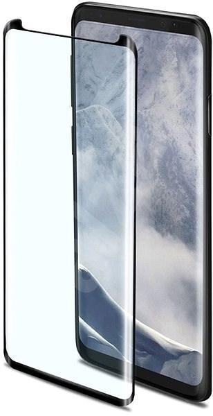 CELLY 3D Glass pro Samsung Galaxy S9+ černé  - Ochranné sklo