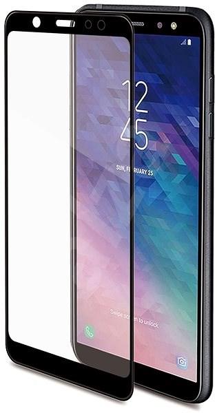 CELLY 3D Glass pro Samsung Galaxy A6 (2018), černé - Ochranné sklo