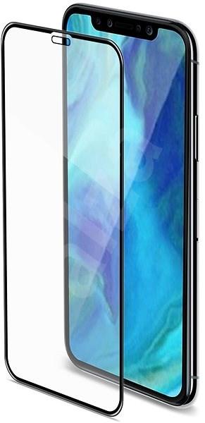 CELLY 3D Glass pro Apple iPhone XR černé - Ochranné sklo