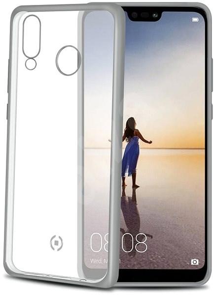 CELLY Laser pro Huawei P20 Lite stříbrný - Kryt na mobil