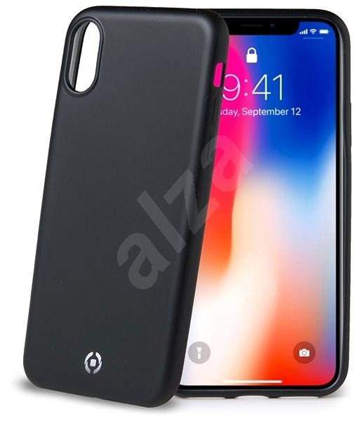 CELLY Softmatt pro Apple iPhone X XS černý - Kryt na mobil  452a5defd4d