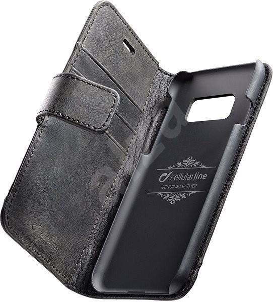 Cellularline Supreme pro Samsung Galaxy S8 černé - Pouzdro na mobil