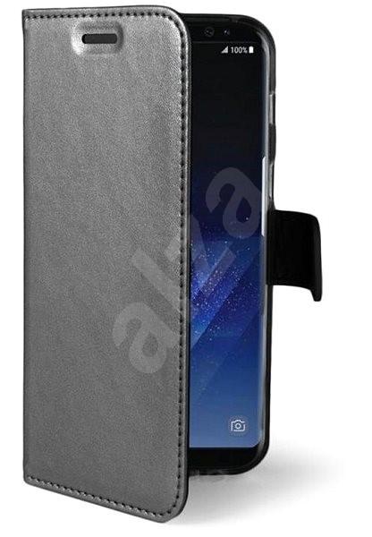 CELLY Air pro Samsung Galaxy S8+ stříbrné - Pouzdro na mobilní telefon