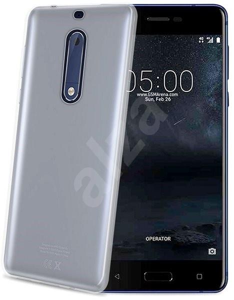 CELLY Gelskin pro Nokia 5 bezbarvý - Kryt na mobil